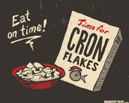 A box of cron flakes.